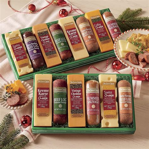 meat and cheese gift basket 28 best cheese gifts for christmas hillshire farm