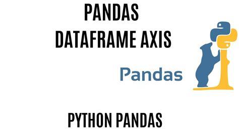 axis pandas