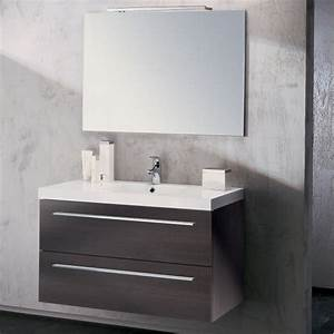 meuble vasque salle de bain sanijura horizon plaque chene With sanijura meuble de salle de bain