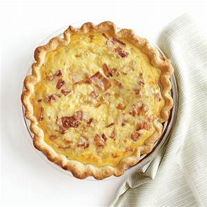 Bacon-Cheese Quiche