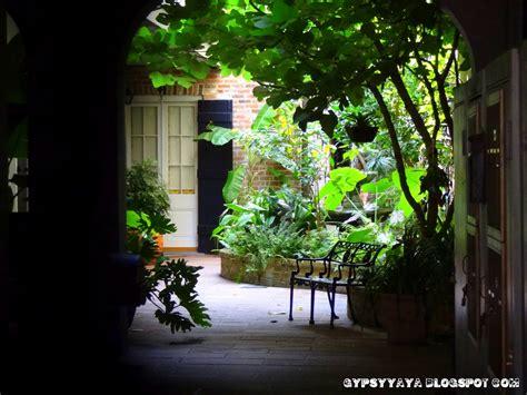 gypsy yaya  painted ladies hidden courtyards