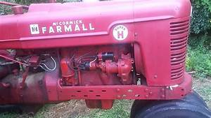 1953 Farmall Super H Starting  Running Issues