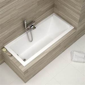 baignoire rectangulaire 170x75 cm duravit starck With salle de bain starck
