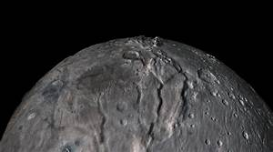 Space Images | Soaring over Charon