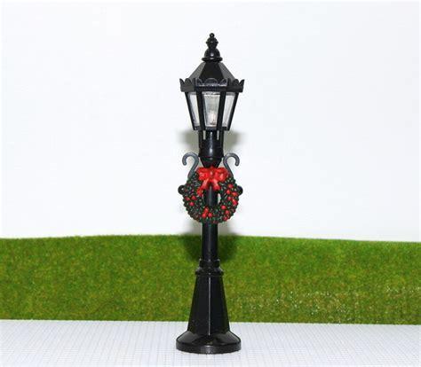 lyc pcs model railway christmas lamp post street