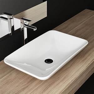 Waschtisch Für Gäste Wc : design keramik aufsatzwaschbecken waschtisch waschschale waschplatz f r badezimmer g ste wc a65 ~ Sanjose-hotels-ca.com Haus und Dekorationen