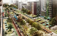 Project for an Elevated Park in Chapultepec, Mexico ...