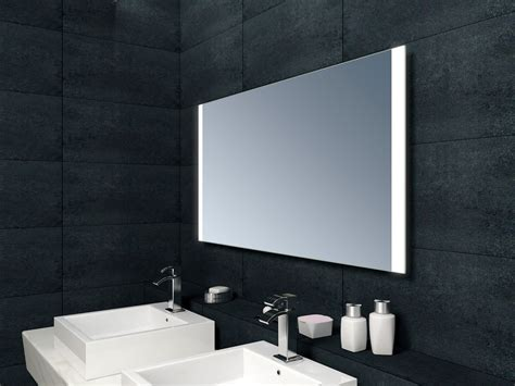 Heated Mirror Bathroom Cabinet by Neptune Led Mirror With Demister And Infra Sensor