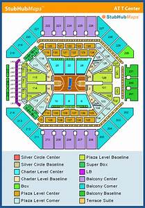 At U0026t Center Seating Chart  Pictures  Directions  And