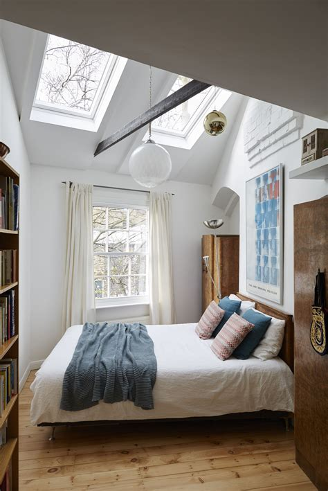 Light In Your Bedroom by This Eclectic Bedroom Feels Bigger With The Roof Windows