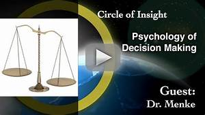 The Psychology Behind Decision Making Process