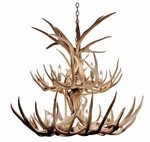 Deer Natural Antler Chandelier | Custom Deer Antler ...