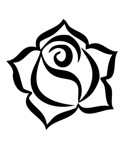 printable rose coloring pages  printable