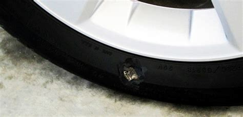 Why Can't You Repair Tires With A Punctured Sidewall?