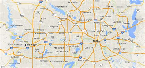 map dfw | The Farah Law Firm