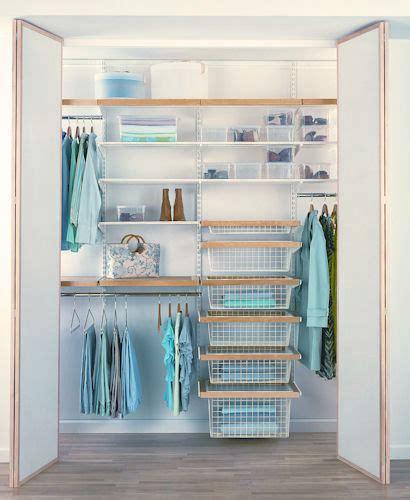 Wardrobe Shelving Systems by Store Elfa Walk In Wardrobe Best Selling Solution I
