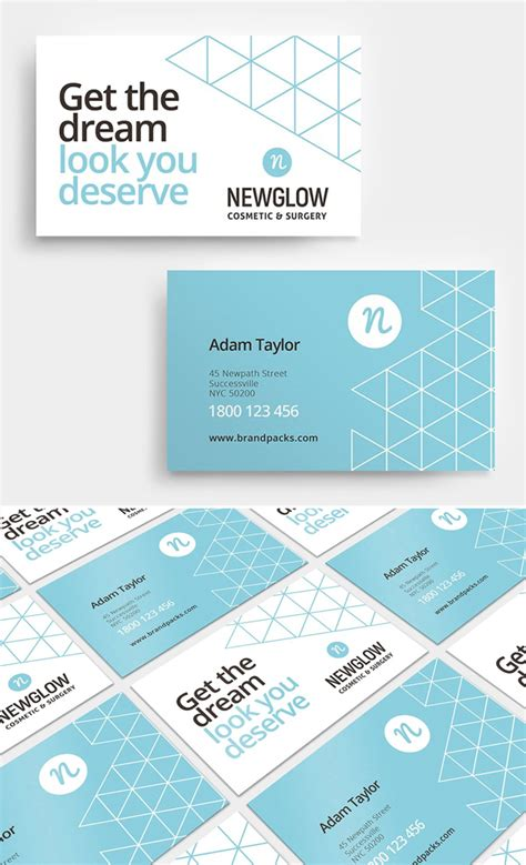 front and back business card template illustrator professional business card templates 25 print ready