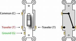 Four Pole Light Switch Wiring Diagram