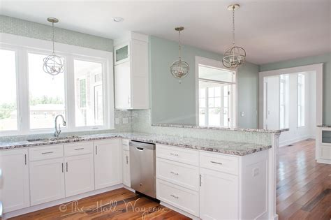 sherwin williams extra white cabinets eastover cottage the kitchen the hall way 331 | 20140714 KLH 0459