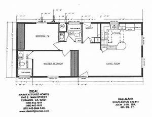 1996 Skyline Mobile Home Floor Plan
