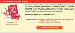Place Gratuite Foire De Paris : foire de paris 2012 200 entr es gratuites ~ Melissatoandfro.com Idées de Décoration