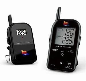 Funk Thermometer Grill : maverick et732b wireless barbecue thermometer schwarz ~ Watch28wear.com Haus und Dekorationen