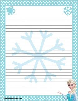 frozen stationery  frozen stationery  printable