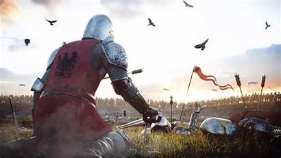 Knight Armor Warrior Battle Fantasy Background Wallpapers