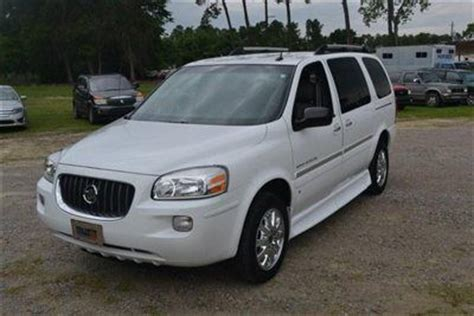 2007 Buick Terraza Cxl by Purchase Used 2007 Buick Terraza Cxl Handicap In