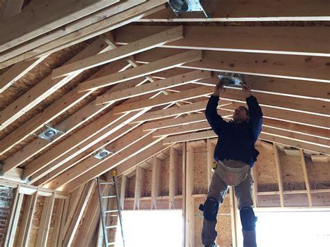 lighting beautify  room   house  vaulted