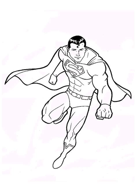 superman coloring pages coloring pages  print