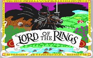 Tolkien Computer Games For The Commodore 64