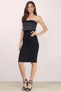Strapless Dresses | White Strapless Dress Black Strapless Dress | Tobi
