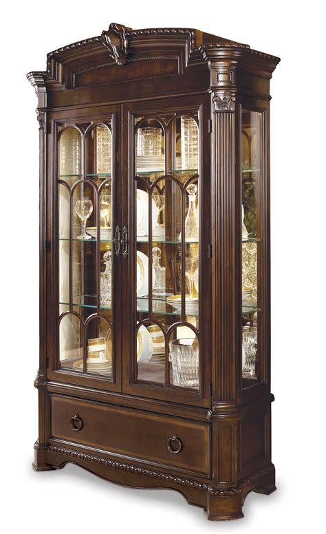 pictures of china cabinets art capri curio china cabinet 187244 2106