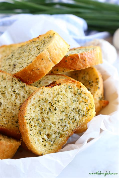 toaster oven garlic bread easy garlic bread ready in 20 minutes the