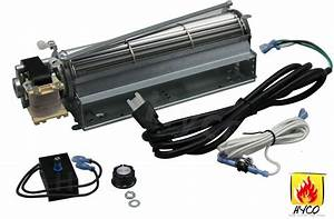 Blot Replacement Fireplace Blower Fan Kit For Majestic