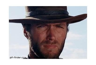 Clint Eastwood Nod Cowboy Cowboys Reaction Gifs