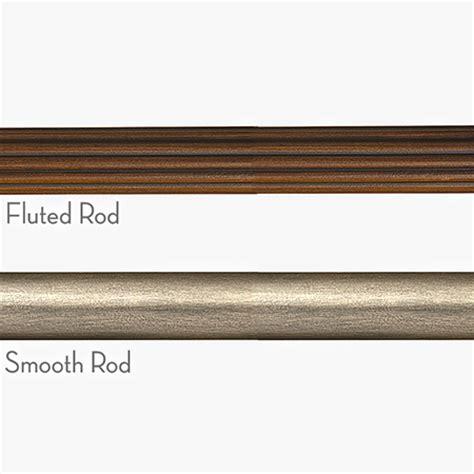 2 1 4 quot drapery rod traditional wood drapery curtain