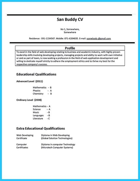 17 best images about resume sles on