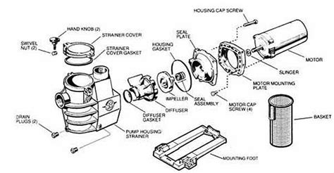 Hayward Super Pump Parts Diagram Images Auto Fuse Box