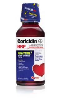 Coricidin HBP Cough and Cold