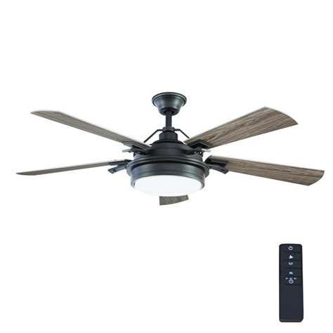 outdoor ceiling fans with remote control home decorators collection westerleigh 54 in integrated