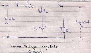 Zener Diode As Shunt Regulator
