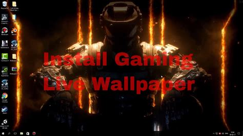 install  gaming wallpapers  youtube
