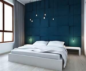 kreative wohnideen schlafzimmer und farbgestaltung wande With schlafzimmer wände