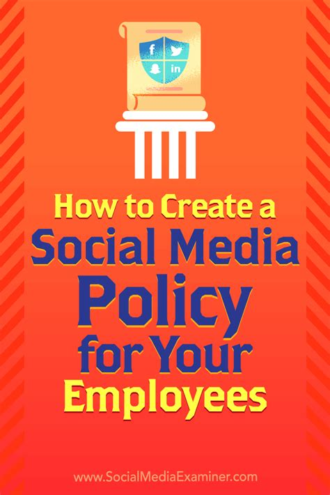 How Create Social Media Policy For Your Employees