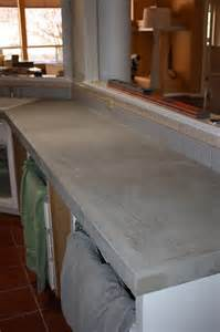 cheap kitchen island tables remodelaholic install of concrete countertops
