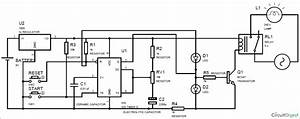 simple time delay circuit diagram using 555 projects to With 555 timer relay circuit also 555 timer circuit diagram further digital