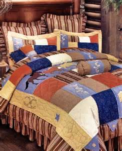 Horse Pattern Quilts Bedding