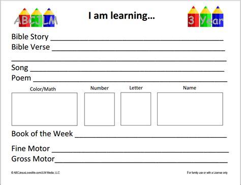 Free Church Nursery Curriculum